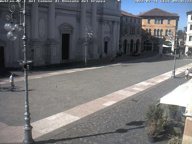 Webcam Bassano del Grappa - Piazza della Liberta