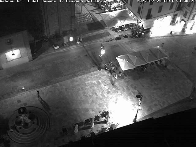 Webcam Bassano del Grappa - Piazza Garibaldi